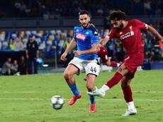 El Liverpool cayó en San Paolo por 2-0. EFE/EPA