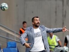 Diego Martínez tiene al Granada como una de las revelaciones de la Liga. EFE