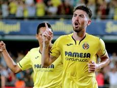 Moi Gómez es amibicioso en en su nueva aventura como jugador amarillo. EFE/Archivo
