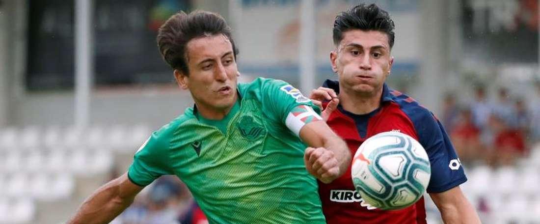 Luis Perea returns. EFE
