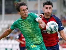 Luis Perea, recuperado para Osasuna. EFE