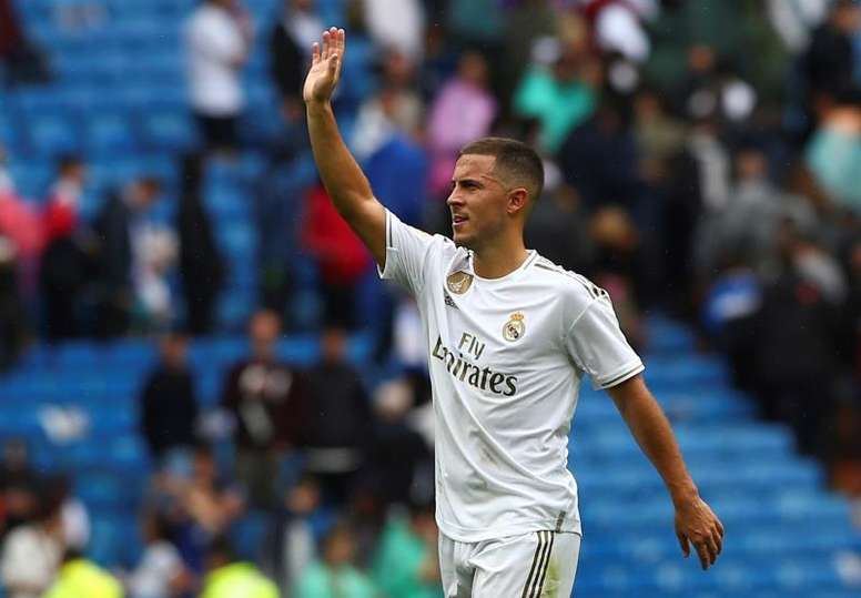 Hazard, um talento superior aos olhos de Martínez. EFE/Rodrigo Jiménez