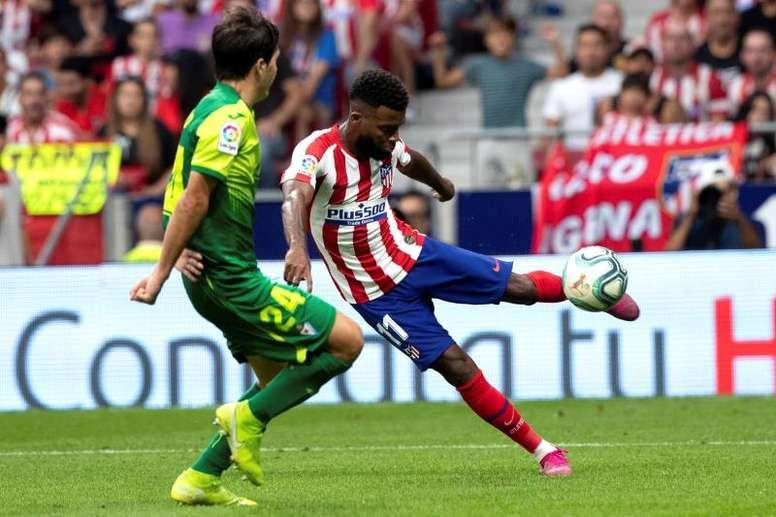 El Atlético tiene 15 días para buscarle un nuevo hogar. EFE