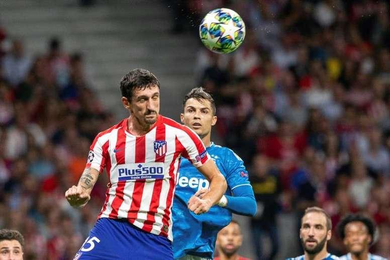 Savic vaticinó un partido duro, aunque tiene confianza plena en el Atlético. EFE