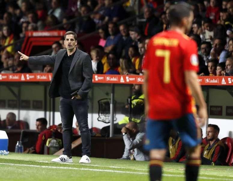 España ya es séptima en el 'top 10' de selecciones. EFE
