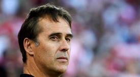 Lopetegui comentó el triunfo del Sevilla. EFE/ Raúl Caro Cadenas/Archivo