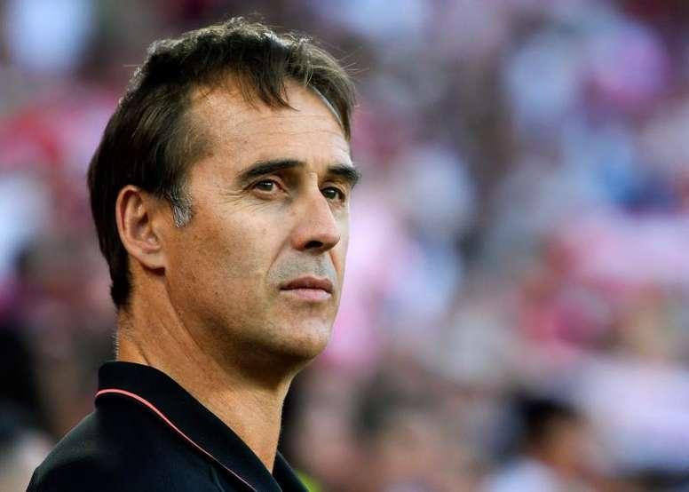 Lopetegui quiere olvidar su etapa en el Madrid. EFE