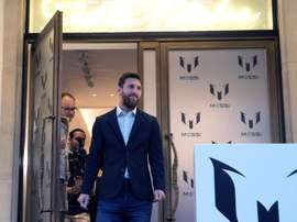 Messi has his own fashion line. EFE
