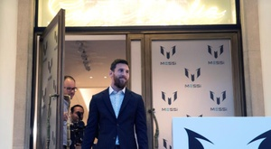 Messi has his own fashion line. EFE