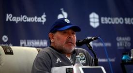 Al habla Maradona. EFE