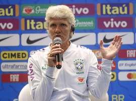 Sundhage dio a conocer la convocatoria de Brasil. EFE