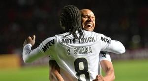 Panamá y Colombia brillan en la Copa Sudamericana. EFE
