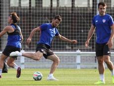 El Athletic piensa en el Alavés. EFE