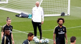 Zidane has got Valverde back for the Sevilla game. EFE