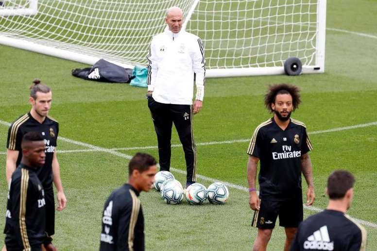 Valverde volvió al grupo; Isco y Modric continúan al margen. EFE