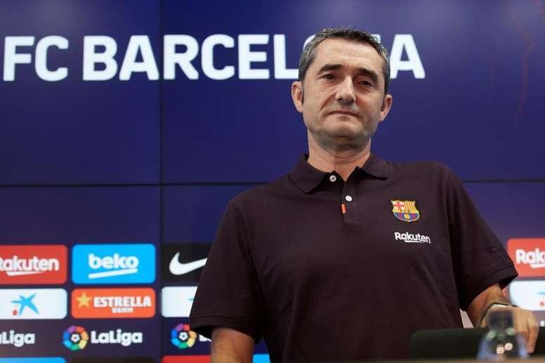 La quatrième claque du Barça de Valverde. EFE