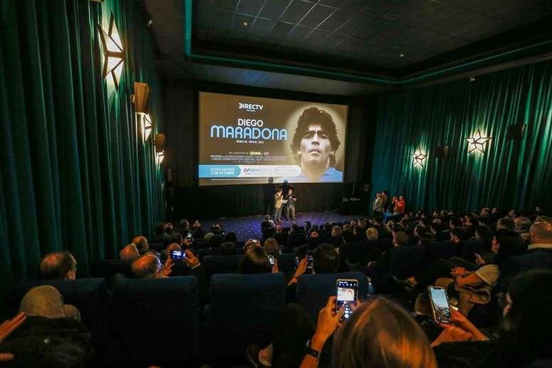 Presentado en Argentina un nuevo documental sobre Maradona. EFE