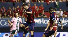 Osasuna y Betis firmaron tablas en El Sadar. EFE