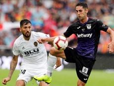 El Valencia quiere poner fin a las dudas ante un Leganés que espera revertir la situación. EFE