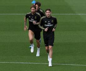 Real Madrid welcome back Ramos, Valverde and Nacho for vital clash. EFE