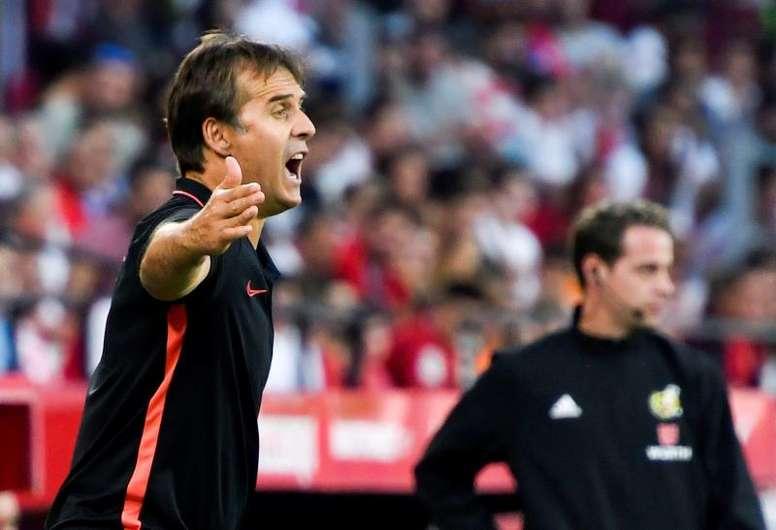 Lopetegui se refirió a su pasado en el Madrid. EFE