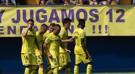 El Villarreal vive su mejor momento goleador. EFE
