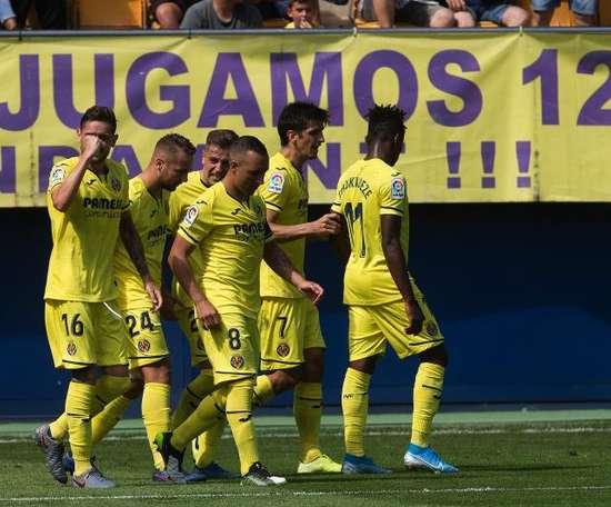 Villarreal s'impose face à Valladolid. EFE