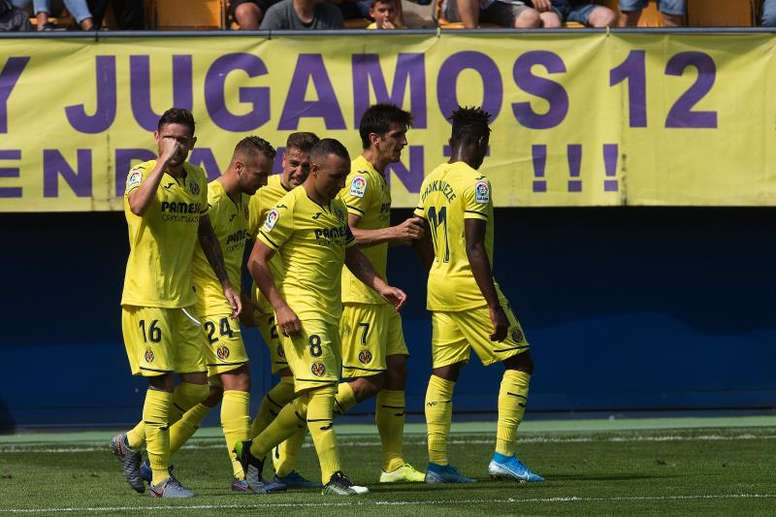 Marcar primero no es sinónimo de triunfo para el Villarreal. EFE