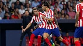 Herrera ya es uno más. EFE/Rodrigo Jiménez/Archivo