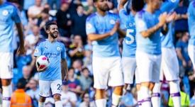 El City firmó la mayor goleada de su historia en la Premier. EFE