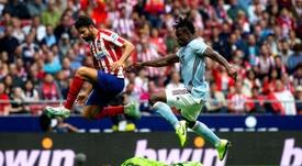 Diego Costa fue intervenido con éxito, informó el Atlético. EFE