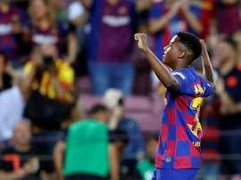 Ansu Fati avant Neymar ? EFE