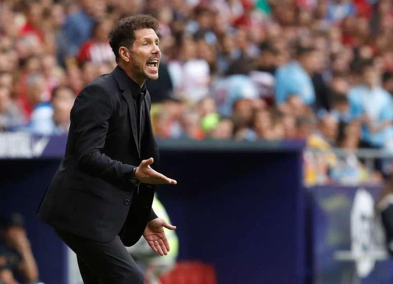 El Atlético solo ha perdido en uno de los últimos siete partidos tras el parón de octubre. EFE