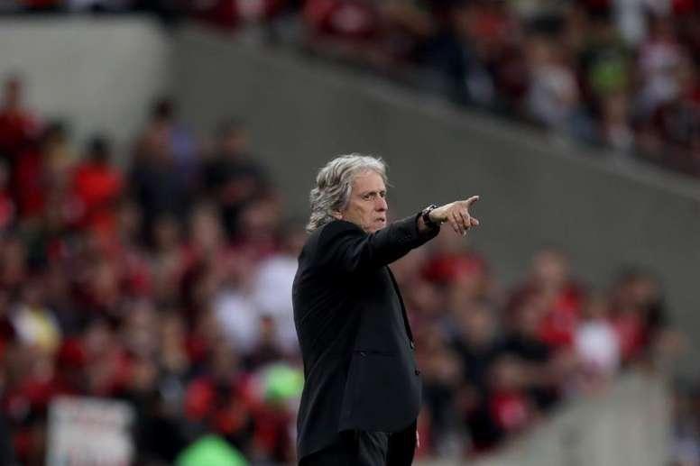 Il tecnico del Flamengo Jorge Jesus, ex Sporting Lisbona. EFE