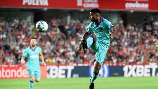 Barcelona - Granada: onzes iniciais confirmados. EFE