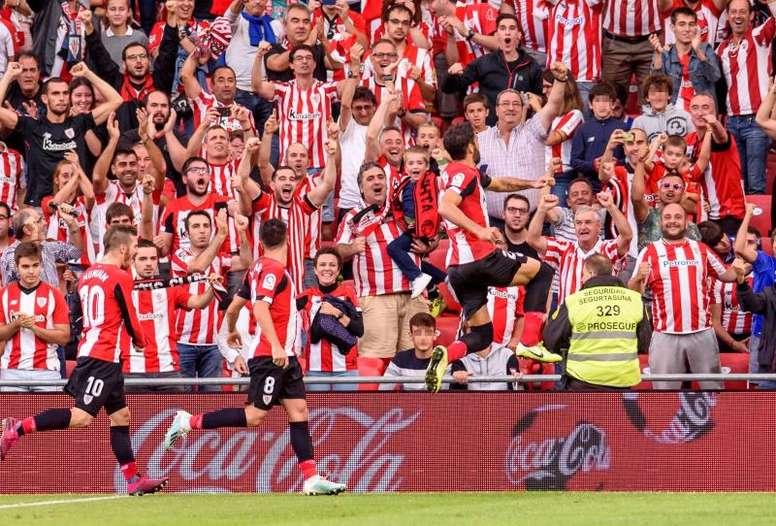 El Athletic venció al Alavés en San Mamés. EFE