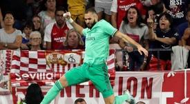 Benzema ve una clara mejoría en el Madrid. EFE