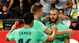 Alineaciones probables de la Jornada 6 de la Liga Santander. EFE