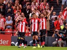 El Athletic encabeza la tabla con el Madrid. EFE