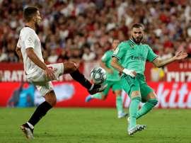 LaLiga: posibles alineaciones del Real Madrid vs Sevilla. EFE/Julio Muñoz