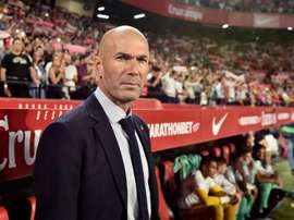 Zidane fier de son équipe. eFE