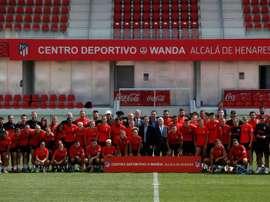 Novo centro de treinamento do Atlético de Madrid. EFE/Mariscal