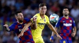 Pau Torres, vai para a agenda de desejos do Arsenal. EFE