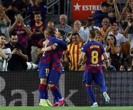Valverde clings to Arthur to regain Barcelona's style. EFE