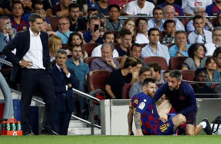 Valverde made the necessary virtue. EFE