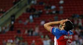 Chivas anuncia la salida de Alan Pulido. EFE/ Francisco Guasco
