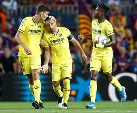 Villarreal planche sur la prolongation de contrat de Chukwueze. EFE
