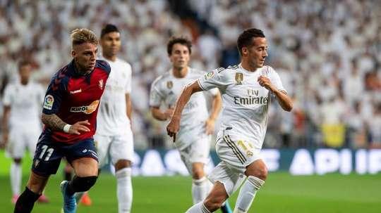 Lucas Vázquez, forfait face à Majorque et incertain pour Istanbul. EFE