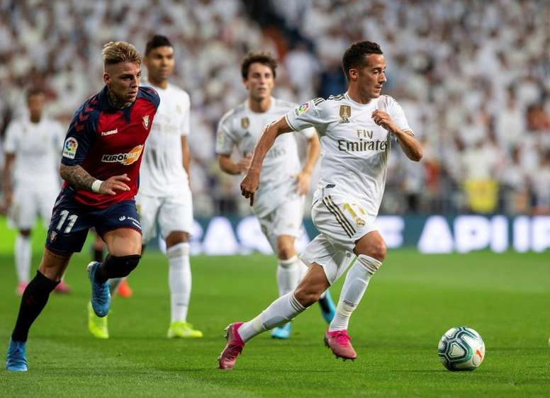 Lucas Vázquez reviewed the current affairs of Real Madrid. EFE