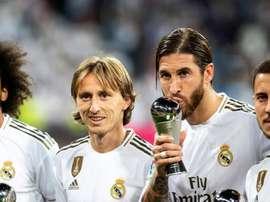 O Real Madrid poderia perder dois ídolos históricos. EFE
